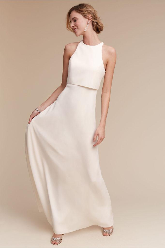 Brautkleid modern