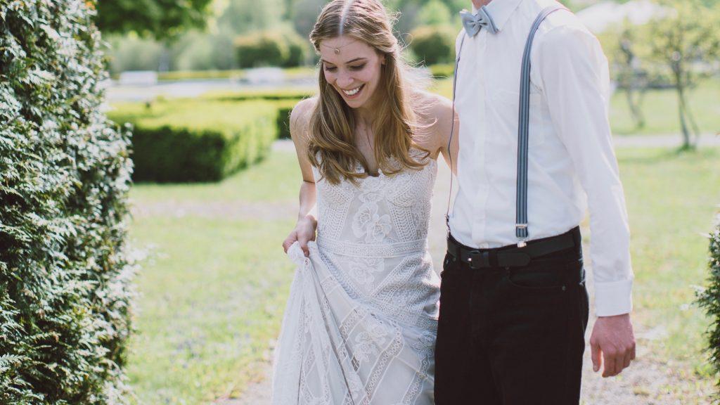 Brautkleid Ruedeseine