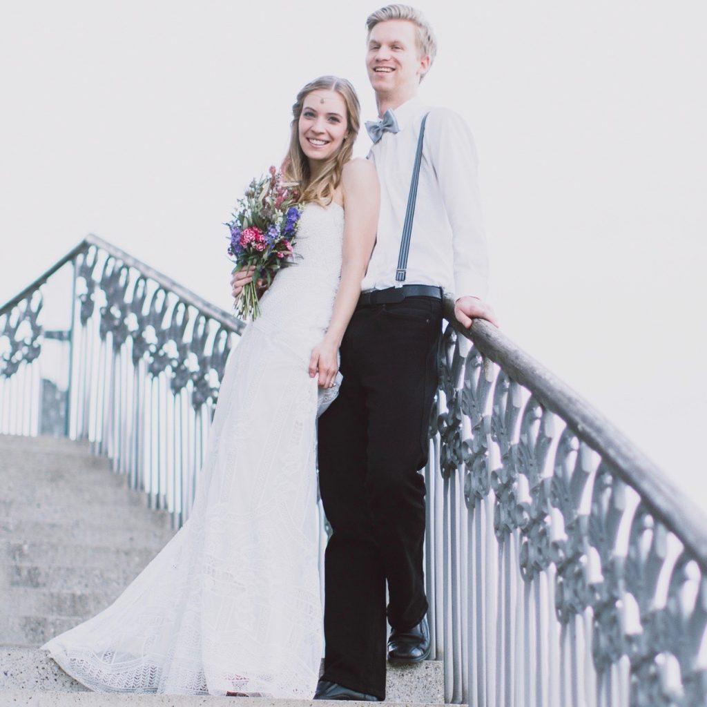 Brautpaar Brautmode