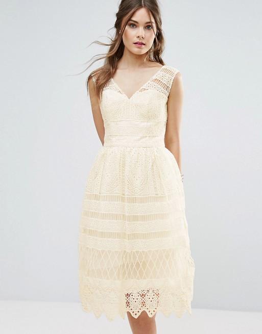 Brautkleid kurz 50s