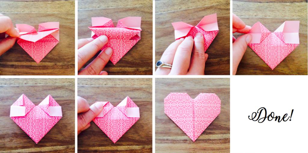 origami herz mit fl geln anleitung my blog. Black Bedroom Furniture Sets. Home Design Ideas