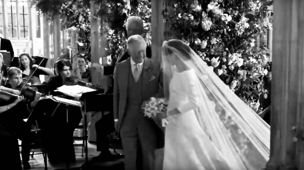 Zärtlichkeit Brauteinzug