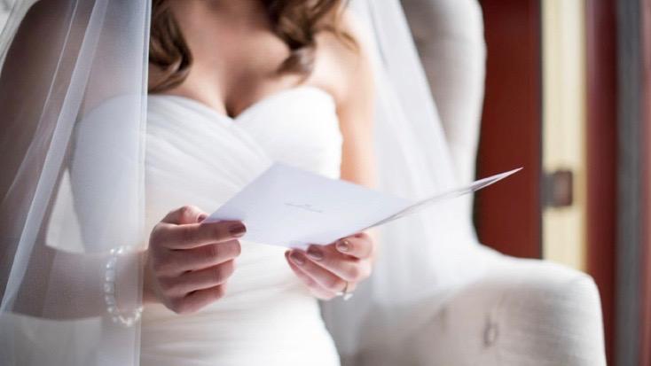 Liebesgabe Liebesbrief Ehegelöbnis