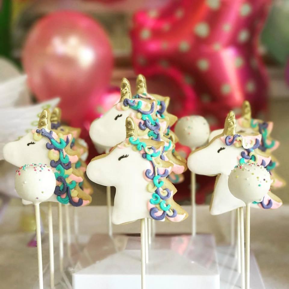 Cakepops Unicorncookies