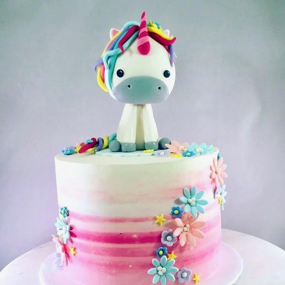 Unicorncake Einhornkuchen