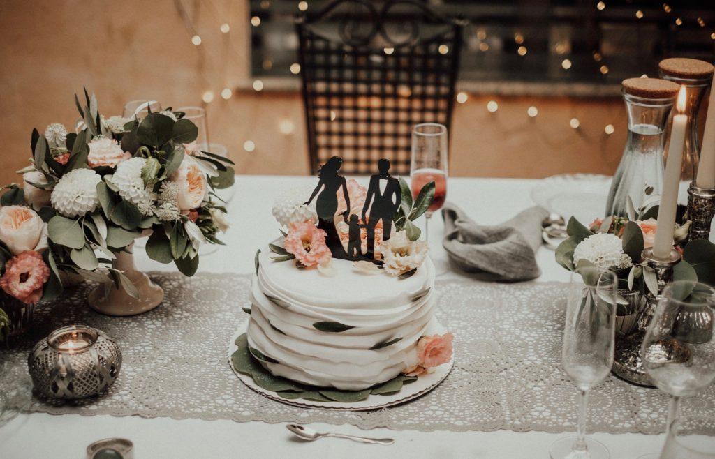 Elopement Hochzeitstorte