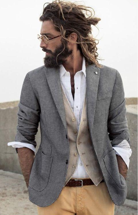 Anzug für Lässige