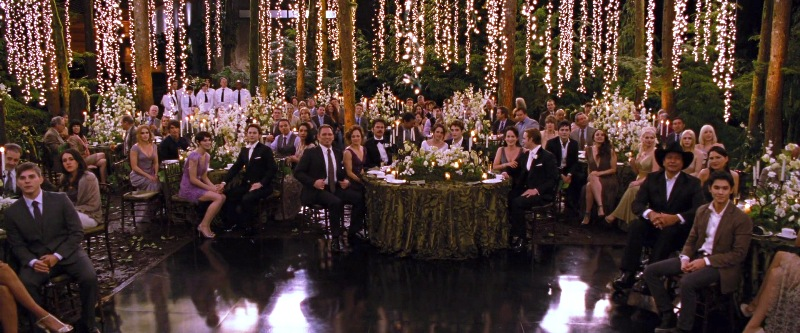 Hochzeit Beleuchtung