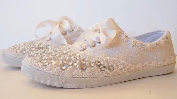 Brautschuhe Sneakers Brautsneaker