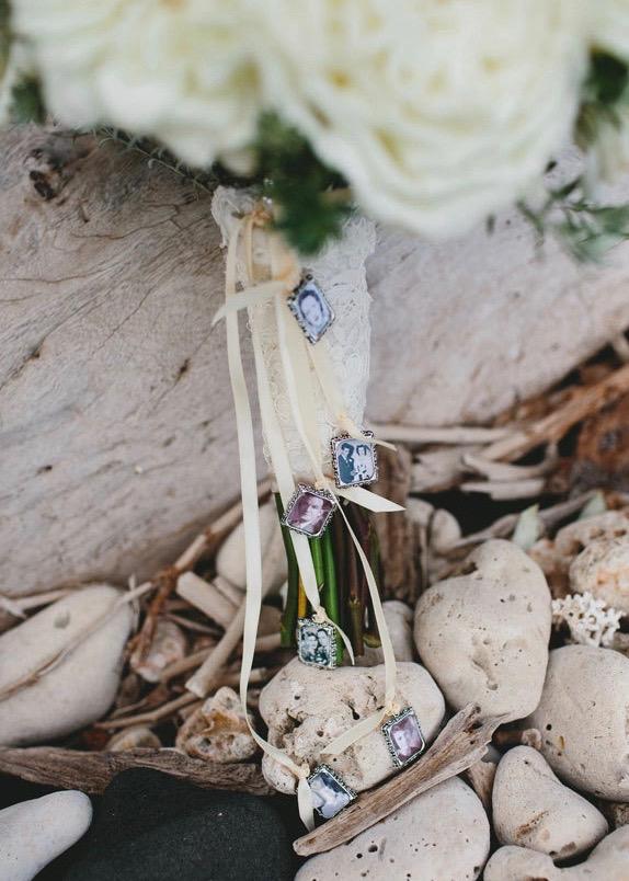 Brautstrauß Medaillon Erinnerung